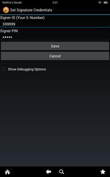 NetFile Signature Verification apk screenshot