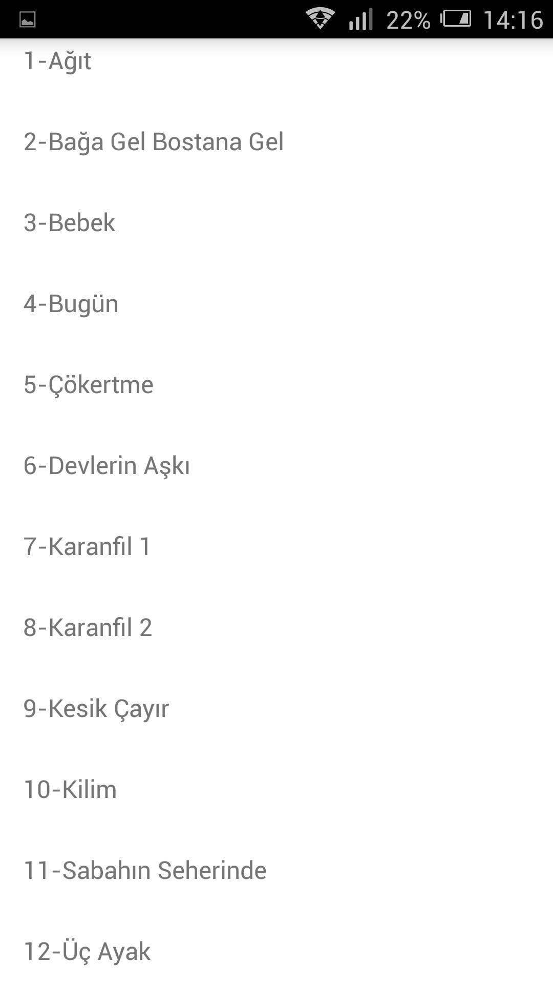 Yedi Karanfil Fon Muzikleri 6 For Android Apk Download