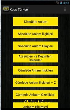 KPSS Türkçe poster
