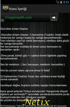 KPSS Türkçe screenshot 1
