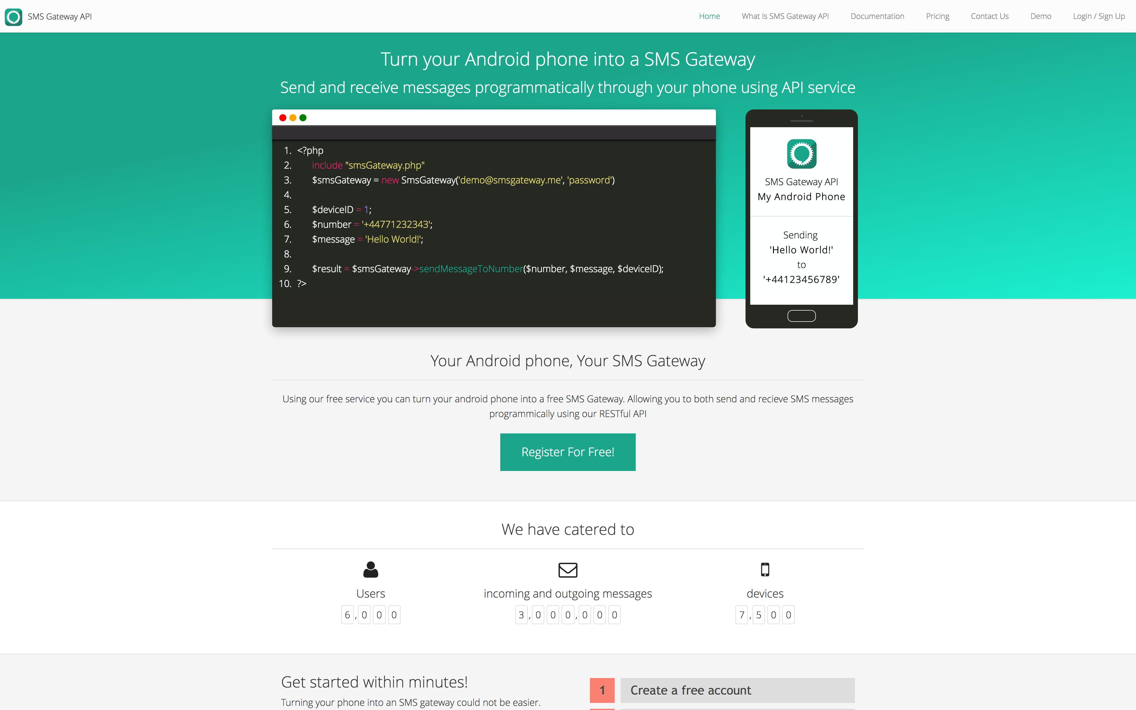 SMS Gateway API for Android - APK Download