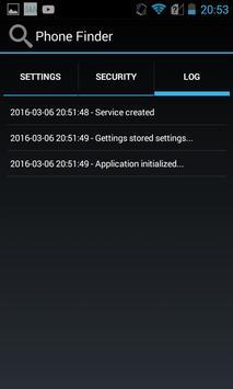 Phone Finder Free apk screenshot