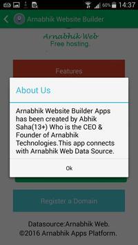 Website Builder by Arnabhik screenshot 4