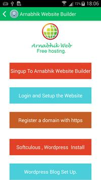 Website Builder by Arnabhik screenshot 6