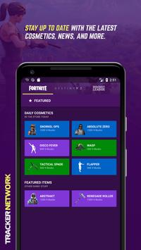 Fortnite Stats by Tracker Network Cartaz