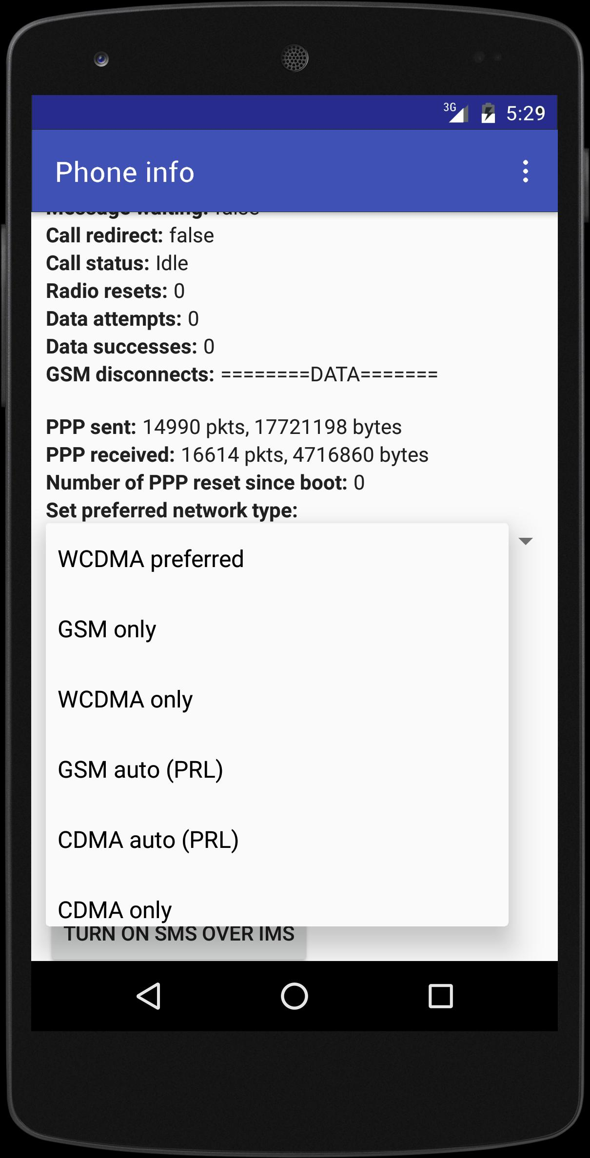 3G Only Network Mode for Android - APK Download