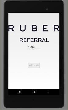 Uber - RUBER REFERRAL CODE APP screenshot 4