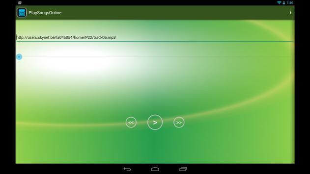 PlaySongsOnline screenshot 1