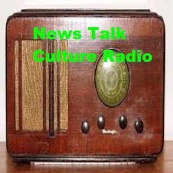 News Talk Culture Radio poster