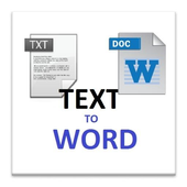 txt to word icon