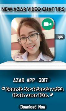 New Azar Video Chat Tips apk screenshot