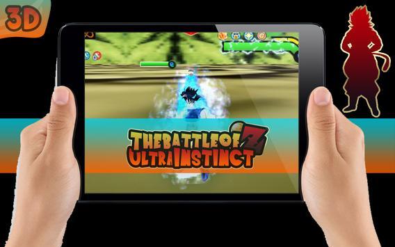 The Battle Of Z Ultra Instinct poster