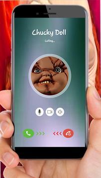 Fake call From Chucky doll apk screenshot