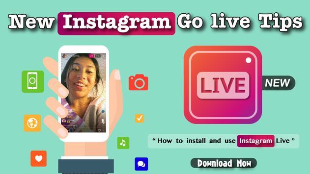 New Instagram Go live Tips apk screenshot