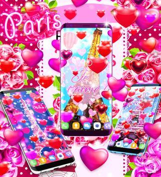 New Paris Love Live Wallpaper Screenshot 5