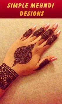 Simple Mehndi Designs screenshot 4
