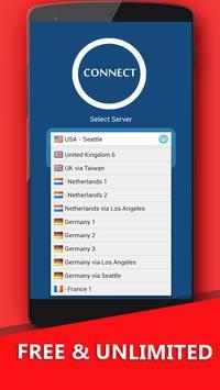 VPN 50 (Unlimited & Free) screenshot 1