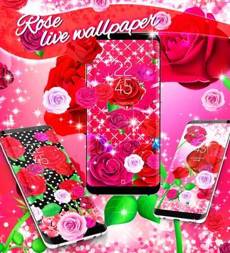 2018 Roses live wallpaper screenshot 4