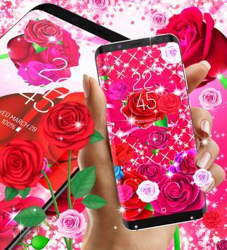 2018 Roses live wallpaper screenshot 1