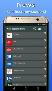 News New Zealand Online poster