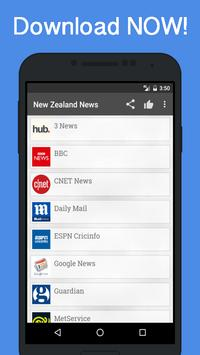 News New Zealand poster