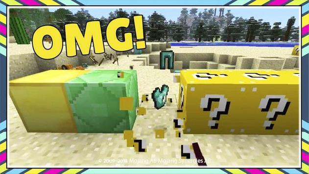 Lucky Block for Minecraft PE screenshot 3
