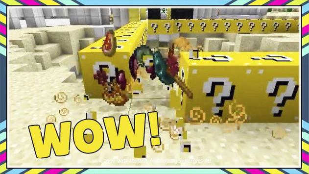 Lucky Block for Minecraft PE screenshot 9