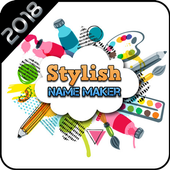 Stylist Name Maker : Photo Collage Maker 2018 icon