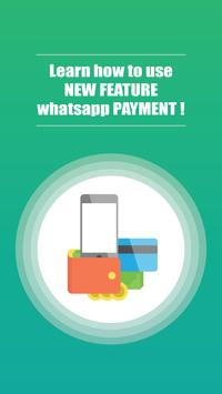 Update for Whatsapp Payment poster