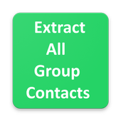 Extract All Group Contacts For whatsapp icon