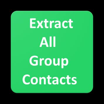 Extract All Group Contacts For whatsapp poster