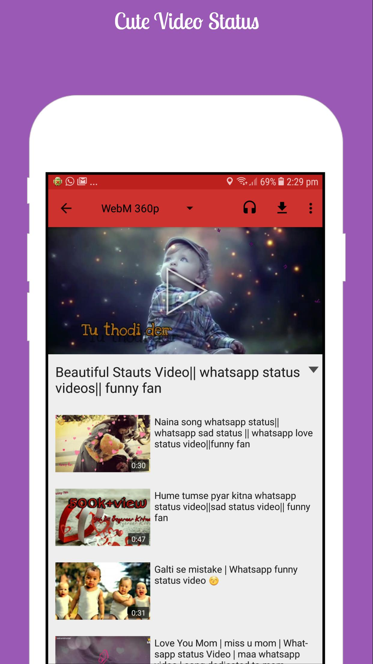 Video Status For Android Apk Download