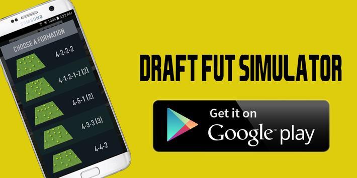 New Draft FUT 18 Simulator poster