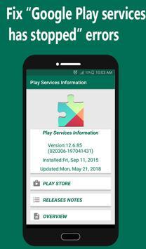 Help Play Store & Google Play Services Error 截图 1