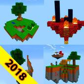 Skyblocks Map for minecraft pe mcpe icon