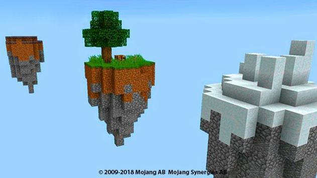 Skyblocks Map for minecraft pe mcpe screenshot 1