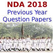 Previous Year NDA 2018 Questions Papers icon
