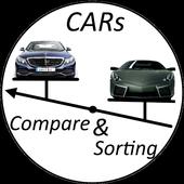 Car Compare & Sorting icon