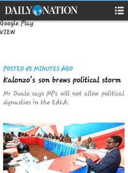 KENYAN NEWS UPDATE apk screenshot
