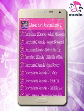 Music for Descendants 2 Ost & Lyrics screenshot 2
