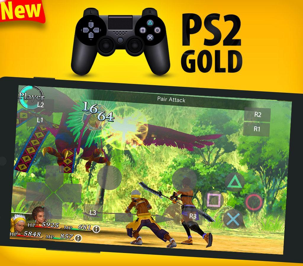 Gold PS2 Emulator : New Emulator For PS2 Games for Android - APK