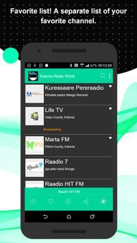 Estonia Radio World screenshot 3