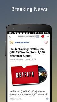 Stock News screenshot 1
