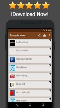 News Tanzania Online poster