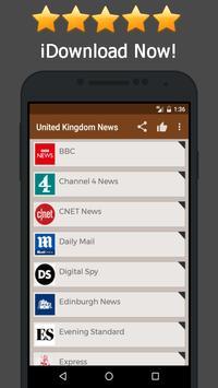 News United Kingdom - Newspaper Online poster