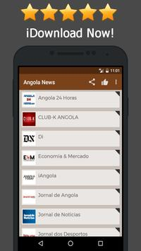 News Angola Online poster