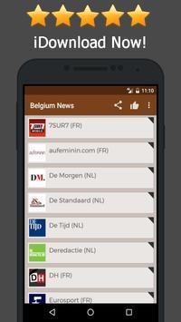 News Belgium Online poster
