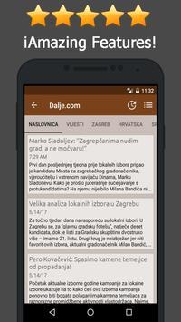 News Croatia Online apk screenshot