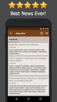 News Czech Republic apk screenshot