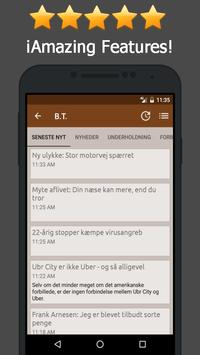News Denmark Online apk screenshot